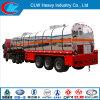 Du camion-citerne 40-60cbm bas de page liquide chimique résistant semi avec le tracteur