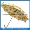Saleのための市場Beautiful Printing Yellow Flower Umbrella
