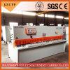 Гидровлическая машина QC12y-16X6000 стальной плиты режа