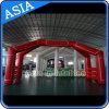 Advertizing personalizzato Inflatable Arch con Velcro Logo