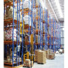 Cremalheira de aço da pálete do armazenamento resistente lateral dobro