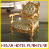 Throne Chairsクリーム色の純木王