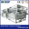 Equipo de la fábrica del tratamiento de aguas residuales del filtro de petróleo de la prensa de filtro de la correa para la venta