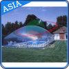 Tenda trasparente gonfiabile protettiva della bolla del PVC, coperchio per la piscina, coperchio trasparente gigante della piscina della tenda della cupola della bolla per uso del raggruppamento