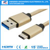 1m USB 3.1 Type C Cable 2.1A Fast Charging Cable