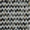 I monili di modo intagliano il mosaico di marmo madreperlaceo delle coperture dei reticoli
