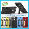 Caja a prueba de choques del sostenedor del teléfono de la ranura de tarjetas de la armadura para Huawei P9