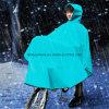 كثيفا و [بورتبل] مطر لباس لأنّ درّاجة في اللون الأزرق