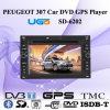 Peugeot 307 (SD-6202)の車DVD GPSプレーヤー