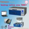 温度テスト(T200Cの+)とフリーリフロー炉鉛