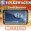フォルクスワーゲン車(W2-D9235V)のための8インチスクリーンとのWitson車DVD GPS