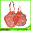 2 Satz-organischer Baumwollnetz-Einkaufen-Ineinander greifen-Erzeugnis-Beutel