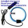 bobina flexible de Rogowski de la alta sensibilidad del transformador corriente CA CA 0-0.333V o 0-5V o 4-20mA