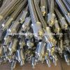 Manguito trenzado 304 flexibles del acero inoxidable de la temperatura alta/de la presión