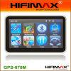 7 Draagbare GPS van de duim met BINNEN Bluetooth, MP3/MP4 FM, AV (gps-070M)