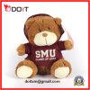 Smu personalizou o urso da peluche de Brown do urso da peluche