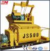Mezclador concreto del eje gemelo Js500