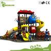 Os brinquedos dos miúdos vendem por atacado o campo de jogos ao ar livre do equipamento dos miúdos coloridos do plástico