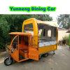 Carro comercial móvil del alimento del vagón restaurante del alimento