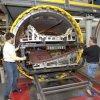 autoclave automatizada cheia dos compostos de 3000X12000mm para curar componentes dos aviões