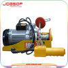 Mini capacité électrique d'élévateur de câble métallique de 100-200kg