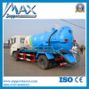 Sinotruk Light Sewage Suction Truck com Small Engine