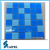 Swimming Pool를 위한 장식적인 빛 파란 Srystal Glass Mosaic