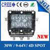 Lámpara Drilling del trabajo del CREE LED de la lámpara 30W del excavador LED
