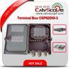 Caja terminal óptica pasiva de fibra de la alta calidad Csp62dw-3 FTTH/caja de distribución de fibra óptica