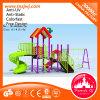 Campo de jogos ao ar livre da corrediça comercial do jogo das corrediças para facilidades do jardim de infância