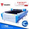 Machine de découpage de laser d'acier inoxydable de commande numérique par ordinateur/tôle