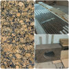 Encimera báltica de la cocina del laminado del granito de Brown