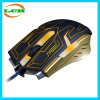 Profesional con cable E-Sport Backlight Gaming Mouse / ratón personalizado