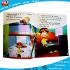 Libro infantil de encargo de la costura de hilo de rosca, libro de ejercicio de escuela