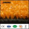 [سونوينغ] تصميم جديدة حارّة طبيعيّ صفراء اصطناعيّة عشب سجادة لأنّ عمليّة بيع