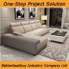 Kakifarbige Farben-modernes Sofa