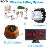 Sale! ! ! ウエーター呼出し表の発呼者のページングシステムを呼出す簡単な中国の無線防水送信機のレストランブザー