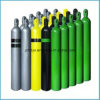 Cilindro de gás de oxigênio de alta pressão de aço sem costura (ISO9809-1)