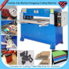 Shoes 또는 Plastic/Foam/Leather/Cardboard/Fabric (HG-A30T)를 위한 유압 Plane Die Cutting Machine