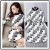 Nouveau Spring Women Clothes Fashion Long Sleeve Casual Dress pour Women