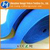 Prendedores azuis do gancho de Dacron e do Velcro do laço para vestuários /Bags