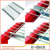 Pesado-deber de acero Wire Mesh Decking de Galvanized para Pallet Rack