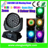 粘土Paky 36X18W RGBWA+UV LED Moving Head Beam