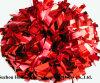 Colore rosso metallico POM Poms