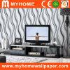 Papier peint non-tissé de conception moderne de l'Italie pour le décor à la maison