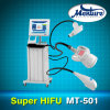 Hifu estupendo Face Lifting Body Slimming Machine con Three Handles