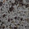 Surface multi machinée de solide de couleur de pierre de quartz