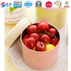Shaped rond Metal Tin Food Container pour Food