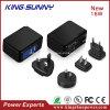 USB 보편적인 엇바꾸기 힘 충전기 4 표준 분리가능한 플러그 EU, UK 의 저희 의 Au
