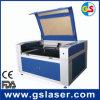 Máquina de estaca móvel do laser da Dobro-Cabeça de Goldensign